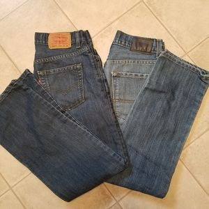 Boys Jeans Bundle! Denizen & Levi's Strauss